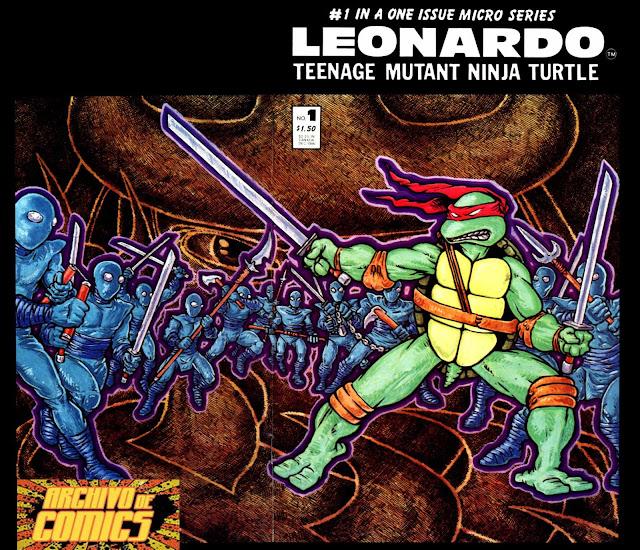 TMNT VOLUMEN 1 TALES LEONARDO