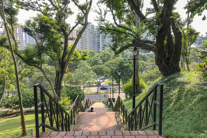 For a large Asian city, Singapore is surprisingly green.