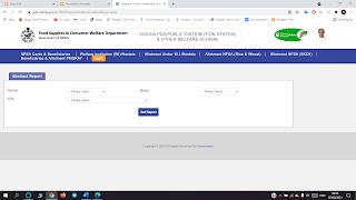 Ration Card LIst Odisha