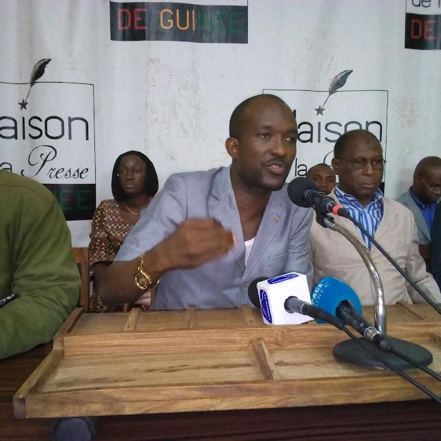 Monsieur Ahmed Sékou Traoré membre des forces sociales de Guinée.