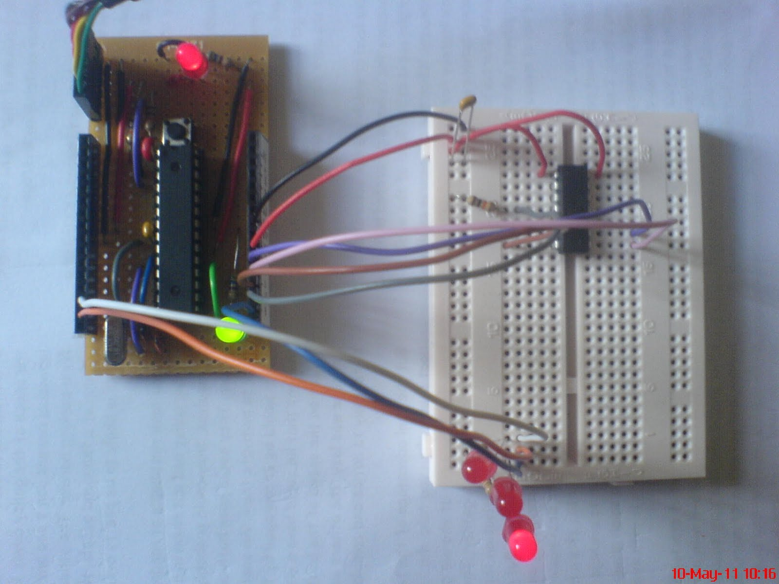 Bits On A Board 2011 Arduino Isp In System Programming And Standalone Circuits Open