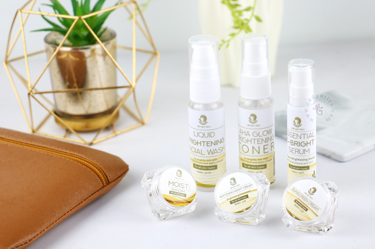 eBright Skin Glow White Travel Kit
