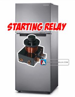 fungsi starting relay pada kulkas