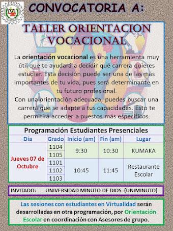 ORIENTACIÓN VOCACIONAL PROFESIONAL