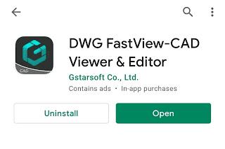 DWG Fastview untuk konvert autocad