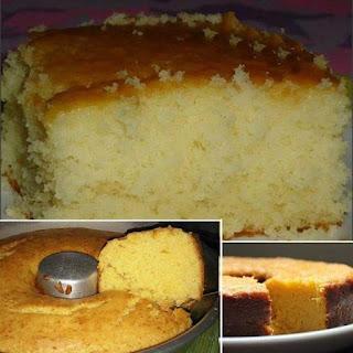 bolo fofinho para café da manhã