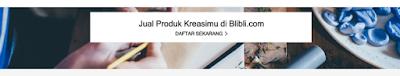 produk kreasiku mau dijual di BliBli