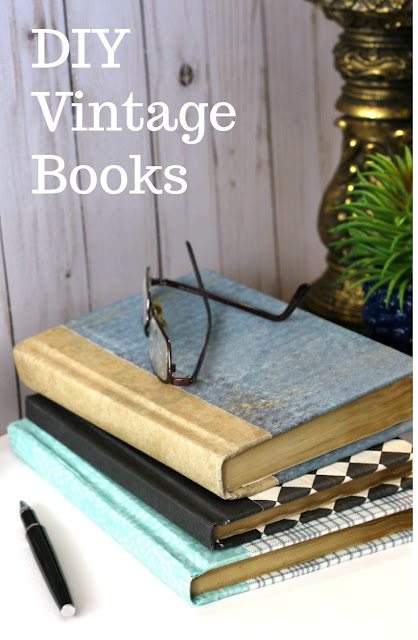 DIY Vintage Books