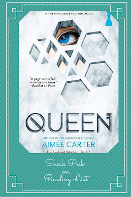 Queen  by Aimee Carter   a Saturday Sneak Peek