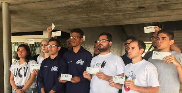 VENEZUELA: Movimiento estudiantil de la UCV acompañará a Guaidó y diputados este martes en la AN.