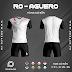 Áo Không Logo Rozaco RO-AGUERO Màu Trắng