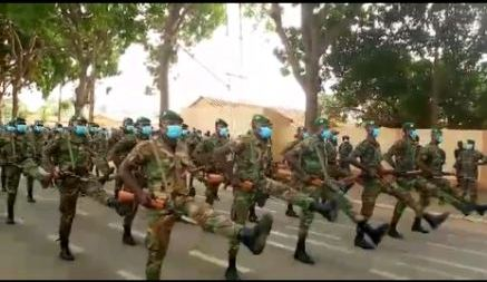 61ème anniversaire de l'Indépendance du Togo dans la sobriété et le respect des mesures barrières
