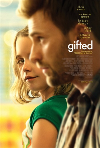 Free Download Gifted 2017 English 720p HC WEBRip 750MB