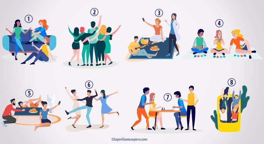 Test: Descubre cuál es tu tipo de amistad ideal