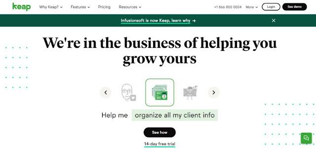 keap-homepage