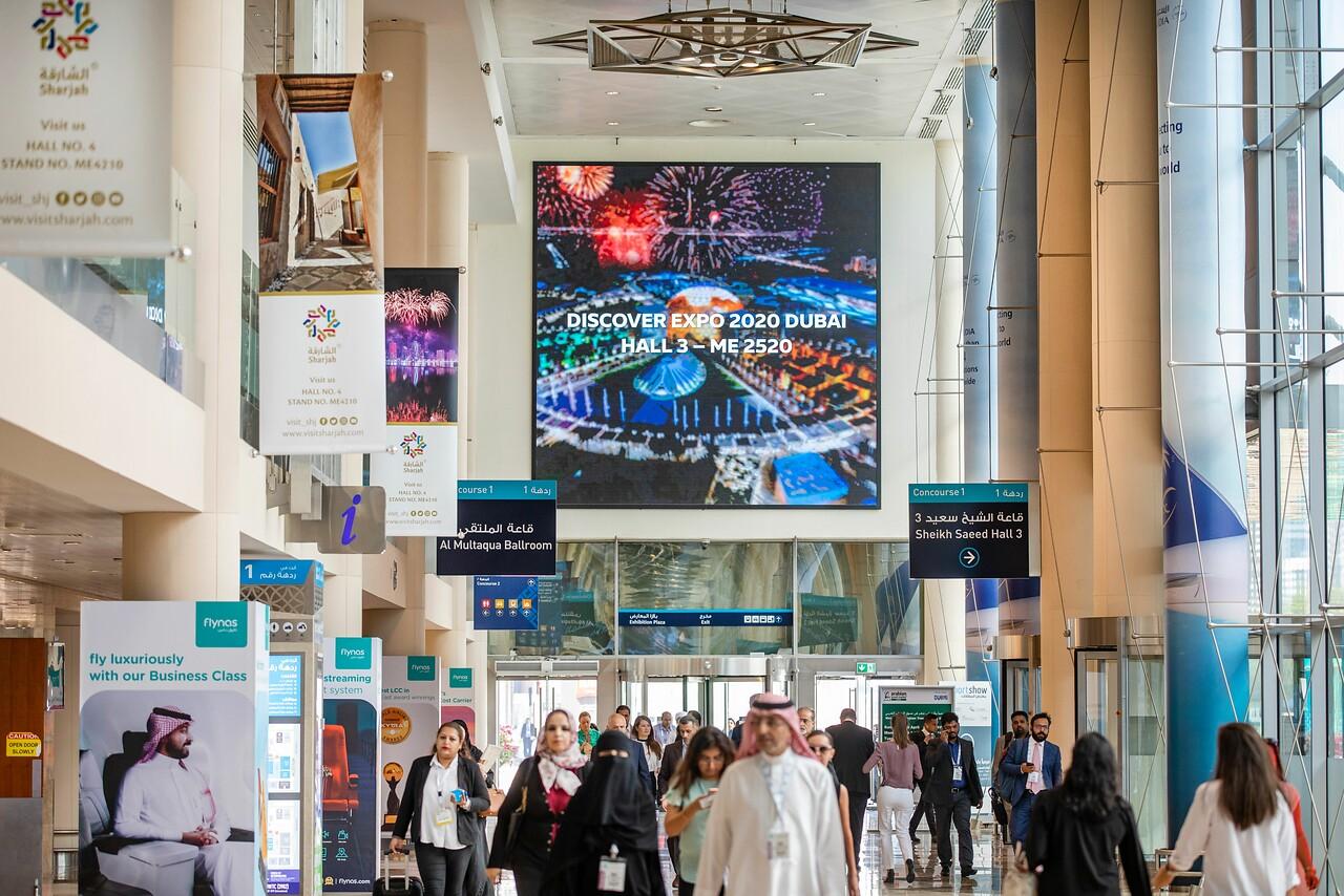 وضع اللمسات الأخيرة لانطلاق النسخة الحية لسوق السفر العربي 2021 بدبي