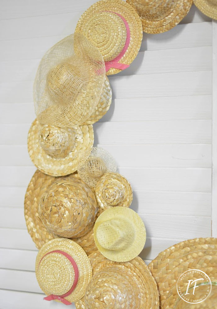Quick And Easy Straw Hat Craft