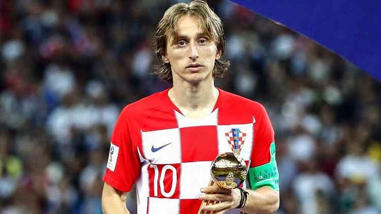 f8beb3cd8 Luka Modric wins world Cup Golden Ball  Mbappe and Courtois also honoured