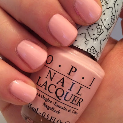 opi hello kitty swatch and review cute and small