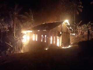 Ini Penyebab Kebakaran Sebuah Rumah di Bulupoddo Kabupaten Sinjai