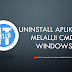[ Video ] Cara Uninstall Aplikasi di Windows 10 Menggunakan CMD