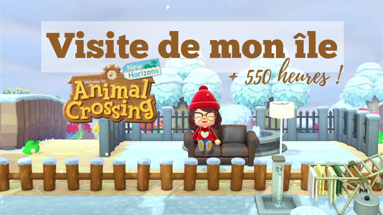 visite de mon île island tour animal crossing new horizons