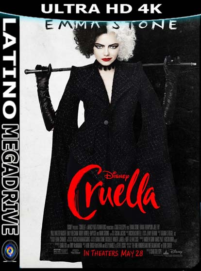 Cruella (2021) Latino 4K [2160p] UHD HDR [GoogleDrive] [Mega] DizonHD