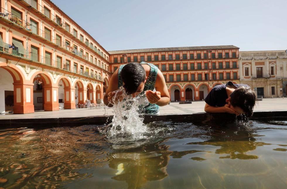 Seorang pria meninggal akibat sengatan panas di Spanyol