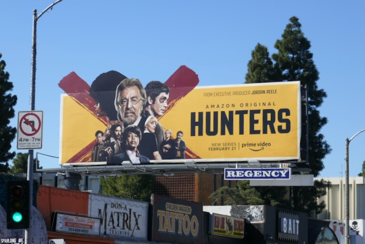 Hunters extension cut-out billboard