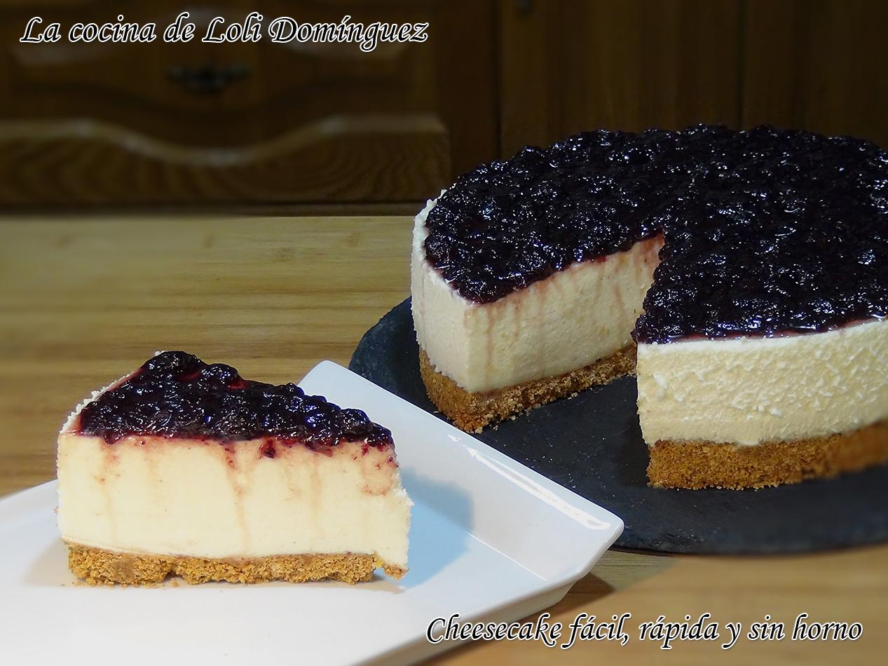 La cocina de loli dom nguez cheesecake f cil r pida y - Cocina rapida y facil ...
