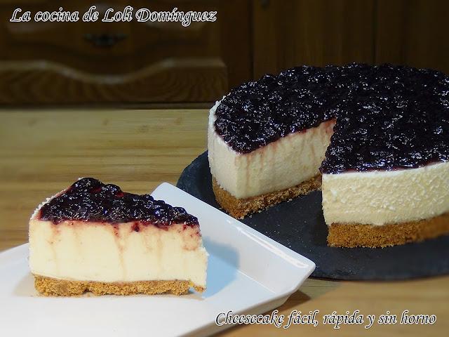 Cheesecake Fácil, Rápida Y Sin Horno