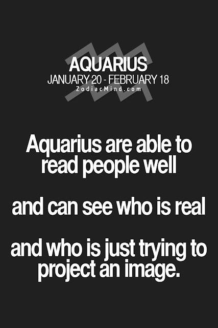 Ewafebri Aquarius Personality