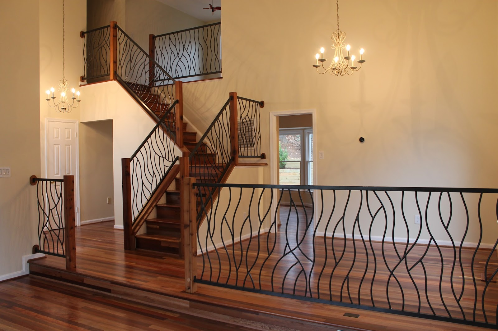 15 Wrought Iron Balusters Design Ideas