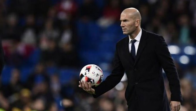 Without the support of Zidane, Real Madrid