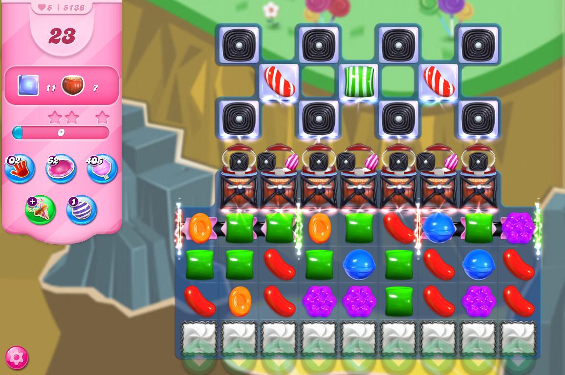 Candy Crush Saga level 5136