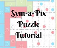 Sym-a-Pix (Galaxy) Puzzle Tutorial: Conceptis Puzzles