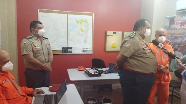 🚒 👨🏽🚒 👩🏻🚒 🔥  *Informe Operação Florestal Bahia 2021 - CORPO DE BOMBEIROS MILITAR DA BAHIA*