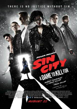 Sin City A Dame to Kill For 2014 BRRip 300MB Hindi Dual Audio 480p Watch Online Full Movie Download bolly4u