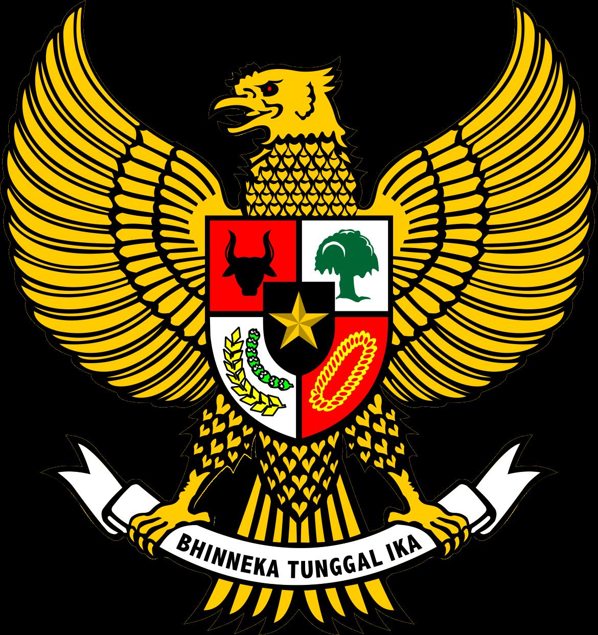 Garuda Pancasila Logo Vector AI Png Files  Welogo Vector