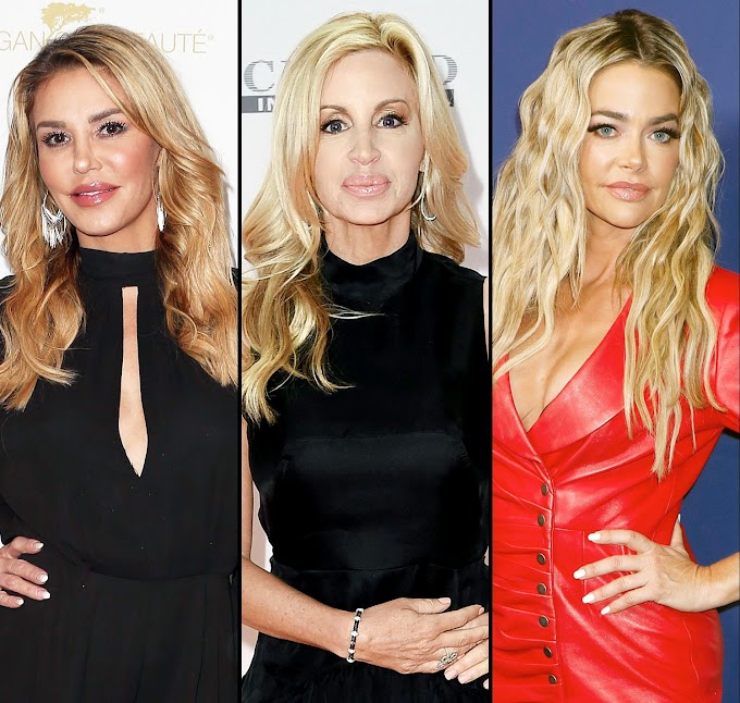 Camille Grammer Shades Brandi Glanville For Sharing Kissing Photo With Denise Richards!