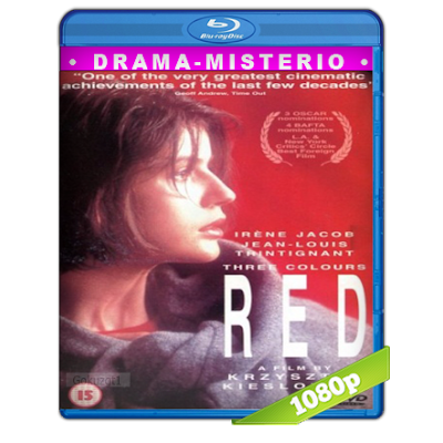 Tres Colores Rojo (1994) BRRip Full 1080p Audio Dual Castellano-Frances 5.1