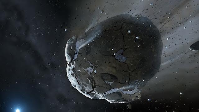 Un asteroide de hasta 570 metros de diámetro se aproxima a nuestro planeta este sábado