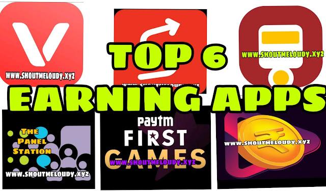 TOP 10 PAYTM EARNING APP 2019 EARNING APP PAYTM 2019