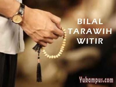 bilal tarawih witir