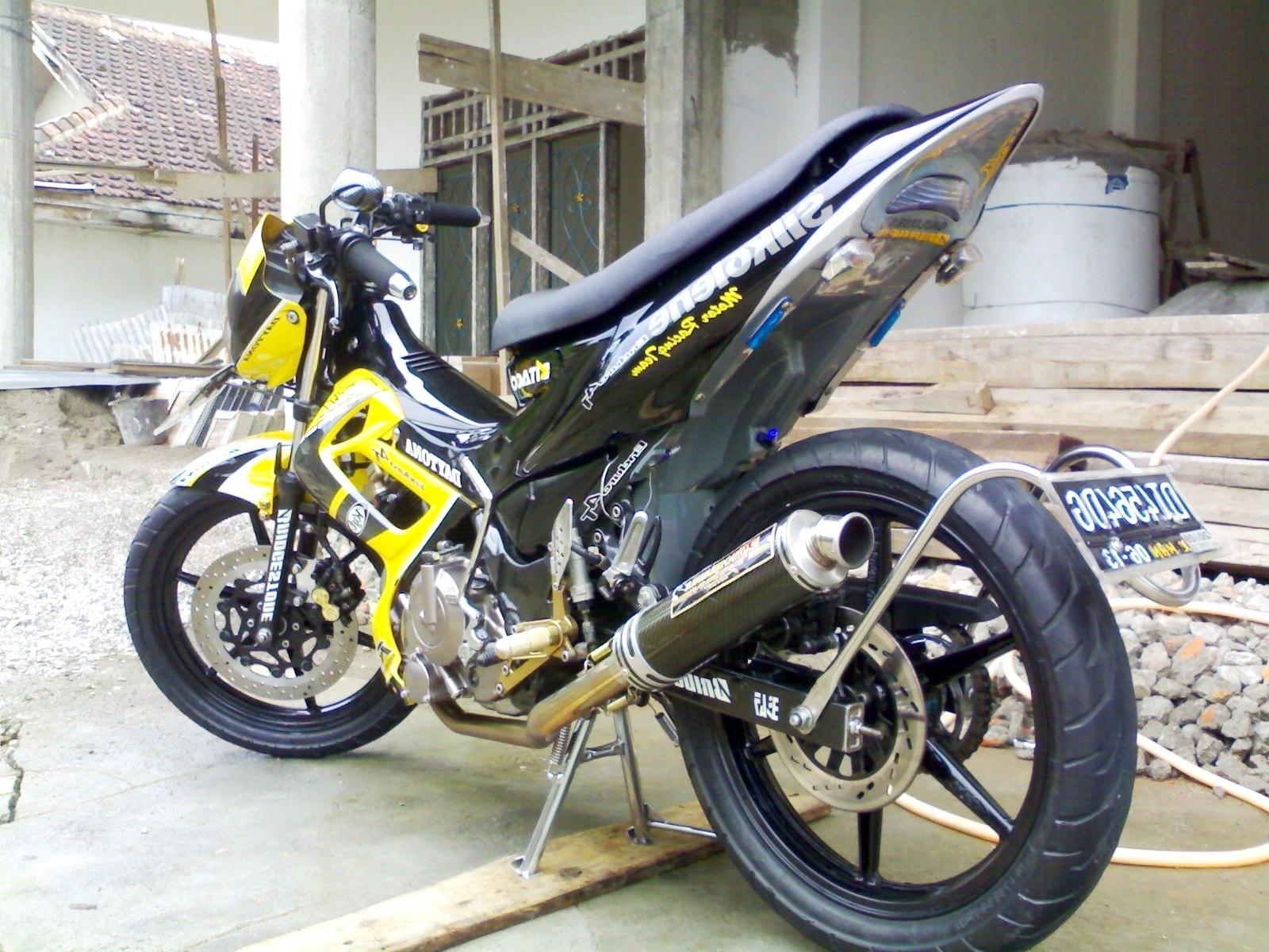 86 Foto Modifikasi Motor Satria Fu 2014 TeaModifikasi