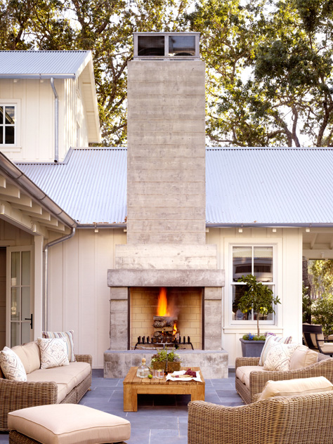 Napa Valley farmhouse by Ken Fulk in C Magazine