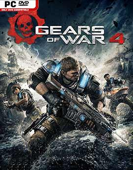 Gears of War 4 Jogos Torrent Download capa