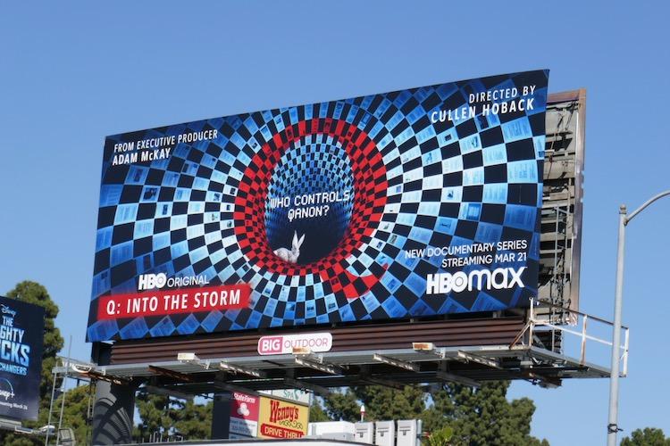 Q Into the Storm billboard