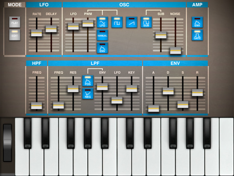 MATRIXSYNTH: Epic Synth for iPad