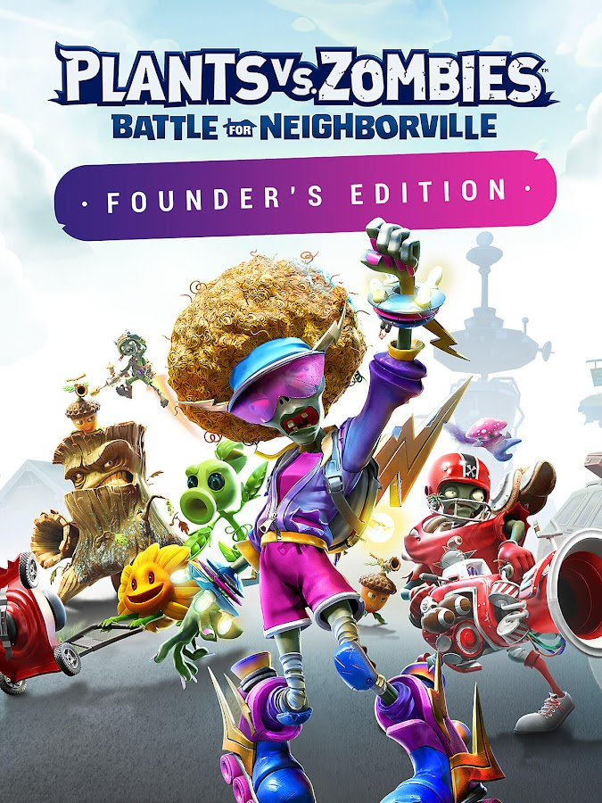 plants vs zombies battle for neighborville founders edition pc ps4 xbox one origin access popcap games electronic arts